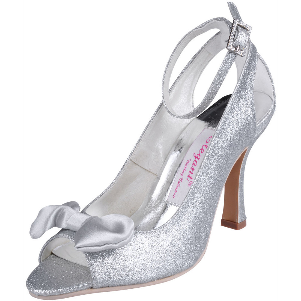Sexy Silver High Heels
