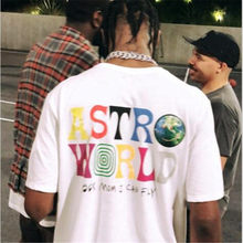 9c4071a8a4c1 Cotton 100% 1:1 TRAVIS SCOTT ASTROWORLD CONCERT MERCH Summer men's and  women's cotton t-shirts 2018 new products hip hop Street