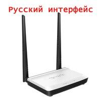 Russische Versie Draadloze WIFI Router WIFI Repeater Booster Extender Thuis Netwerk 802.11 b/g/n RJ45 4 Poorten Tenda WI-FI 300 Mbps