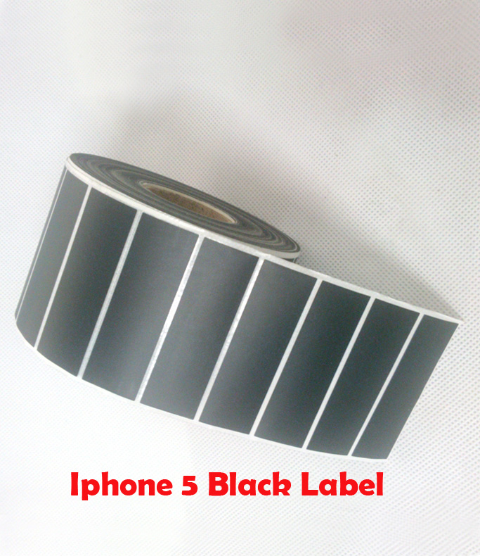 ФОТО specialized mobile phone 5S packaging box Black Label paper  HS-6924(69*22mm*2000pcs)