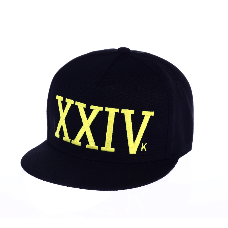 24K XXIVk Magic Snapback Bruno Mars Custom Hat Yupoong White