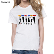 best friends t shirt femme tv show tshirt female t-shirt camiseta mujer tumblr clothes graphic tees women 90s tops