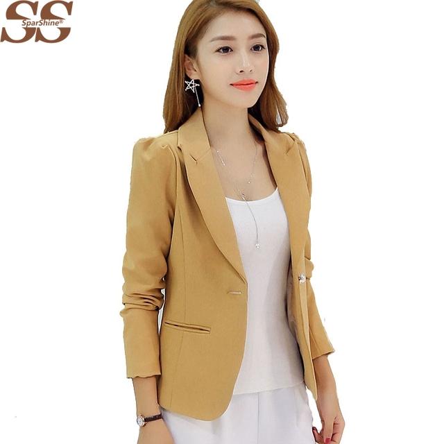 Mulheres Blazer Casaco Para O Outono Inverno Manga Comprida Brasão Jacket Elegante Moda Manga Comprida Sólidos Casual Paletó