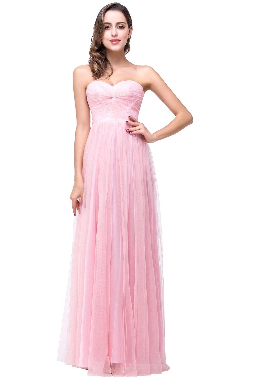 Dama Real Vestidos Line Largo Del Amor De Rosa Pastel Foto A vIbyYgf76
