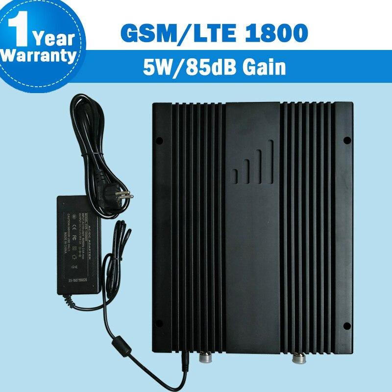Lintratek 85dB Gain 5 W amplificateur de Signal GSM 4G LTE 1800 mhz Booster de téléphone portable DCS 1800 répéteur cellulaire de téléphone portable S14