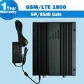 Lintratek 85dB Ganho 5 W Amplificador De Sinal GSM 4G LTE 1800 mhz Celular Impulsionador DCS 1800 Do Telefone Móvel Celular repetidor Para O Projeto