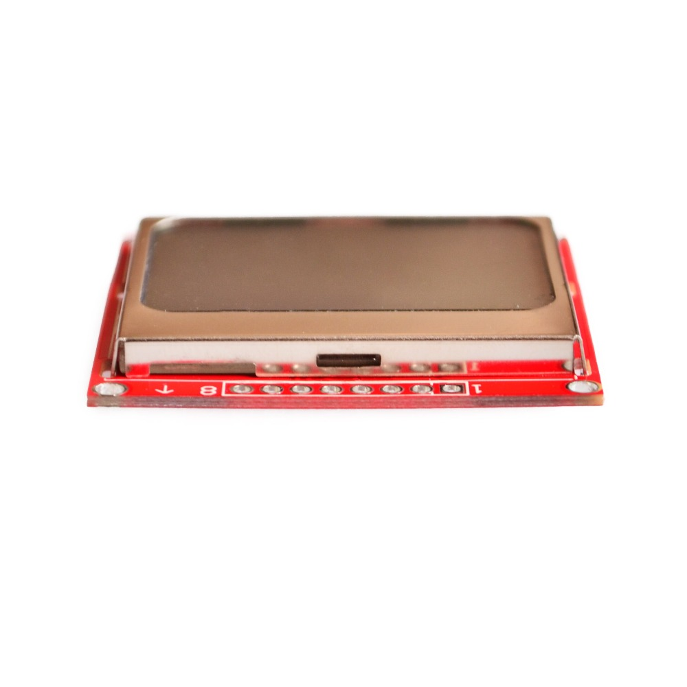 Módulo LCD Electrónica Inteligente, Monitor de pantalla, retroiluminación blanca, adaptador PCB 84*48 84x84, pantalla Nokia 5110 para Arduino