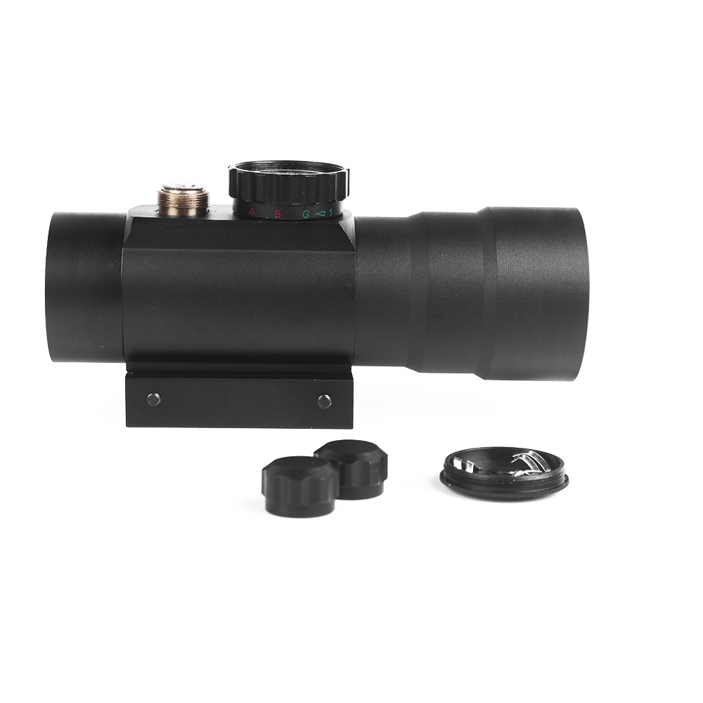 Image 5 - 3x44RD Red Green Dot Sight Scope Optics Riflescope Fit 11/20mm Dovetail Rail For Outdoor Hunting Airsoft Gun Red Dot Sight-in Riflescopes from Sports & Entertainment