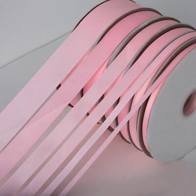 5 ярдов/рулон корсажные атласные ленты для свадьбы, украшения для рождественской вечеринки, самодельные ленты для поделок, открыток, подарочных упаковочных принадлежностей - Color: Pink