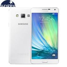 Оригинальный samsung galaxy a7 a7000 4 г lte мобильный телефон окта-core 1080 P 5.5 »13 мп 2 г ram 16 г rom dual sim смартфон