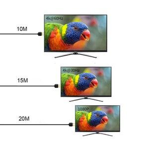 Image 4 - 2x2 HDMI 2.0 التبديل الجلاد الفاصل 4K @ 60Hz YUV 4:4:4 البصرية SPDIF + 3.5 مللي متر جاك مستخرج الصوت مع IR التحكم عن بعد