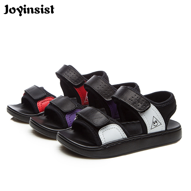 2018 summer new childrens sandals childrens shoes girls leather sandals boys sandals