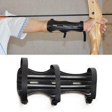Forfar кожа 3 ремень мишень, стрельба из лука Защита руки защитное снаряжение