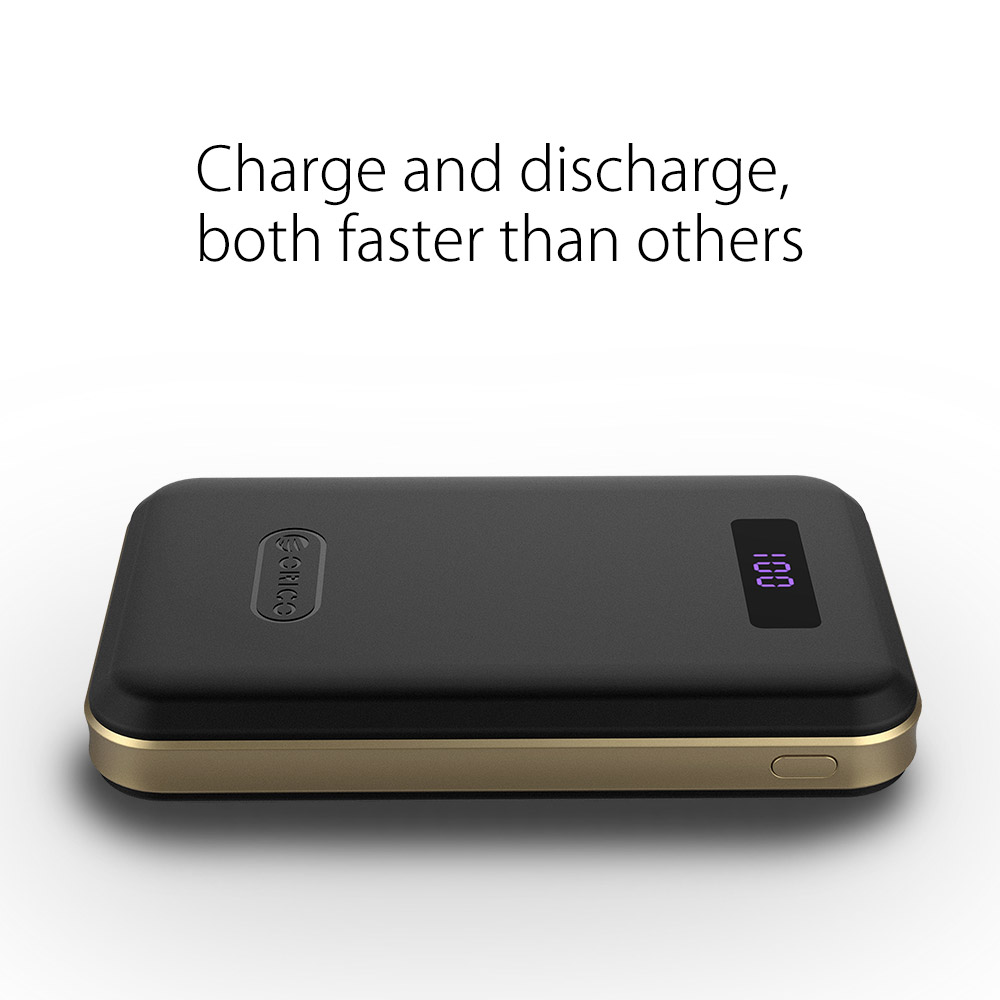 Orico Polymer Typec High Capacity 12500mah Power Bank With Ld100 10000mah Scharge Type C Dual Usb Battery Lcd External Portable Mobile Fast Charger For Iphone In From Cellphones