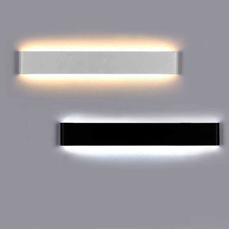 Modern Led Minimalist Aluminum Strip Lights Wall Light