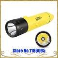 New Genuine POP Lite FITECH F8 Cobrando Chutes de Longa Distância de Mergulho Profissional LED1000 T6 Lumens CREE XML Lanterna LED