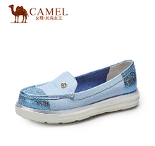 Camel ladies shoes fashion shallow mouth flat shoes women's singles A51132601