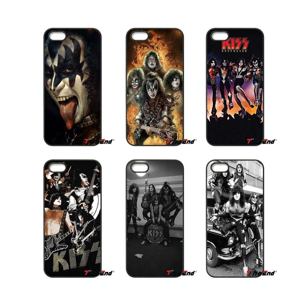 Fashion Kiss Rock Band Usa Mobile Phone Case Cover For