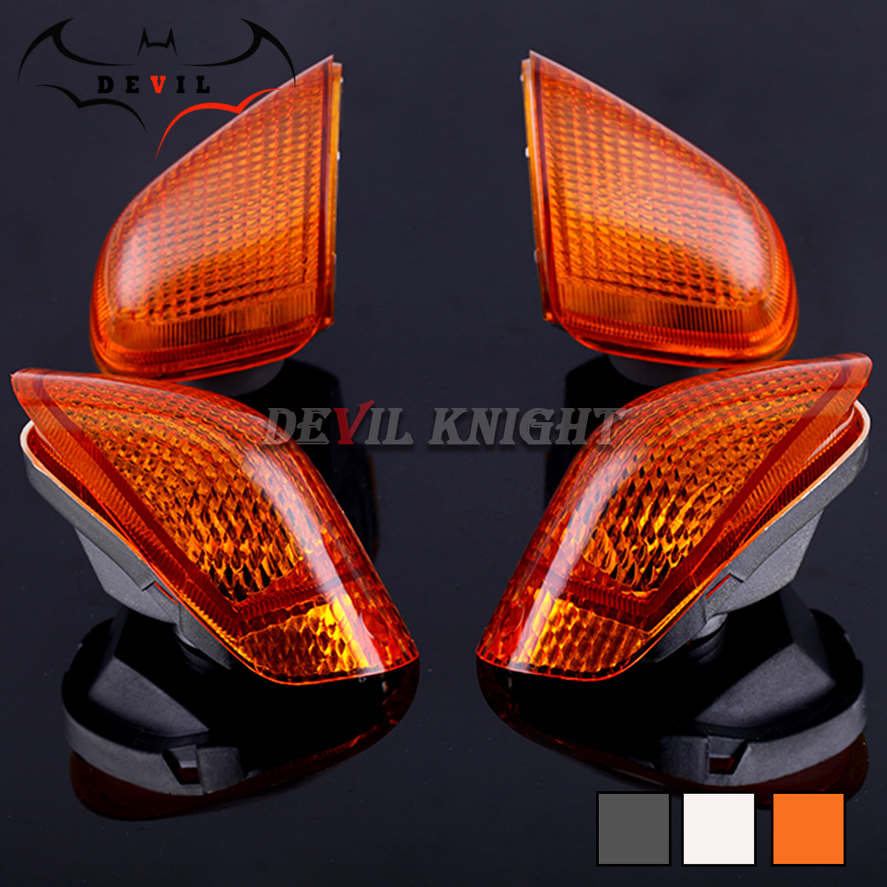 Front/Rear Turn Signal Light Lens For KAWASAKI ZZR 1100 D ZX-11 NINJA 93-01, ZZR1200  Motorcycle Indicator Lamp Cover ZZR1100D