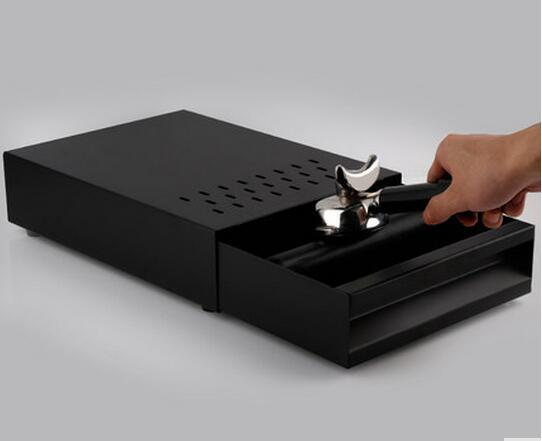 Drawer type powder slag box black 6951 plastic magic drawer box yellow