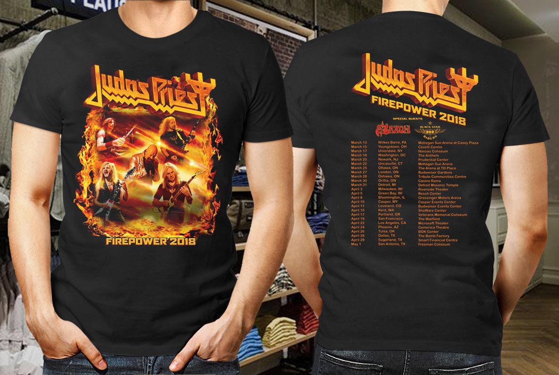 Authentic JUDAS PRIEST Firepower T-Shirt NEW