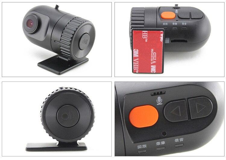 imágenes para 1080 P Novatek Video Del Coche de Detección de Movimiento HD DVR Cámara Delantera para el Coche Reproductor de DVD de Navegación GPS