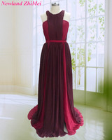 Multi Colors Celebrity Dress 2018 Charming Woman Red Carpet Long Chiffon Open Back Dance Dresses Custom
