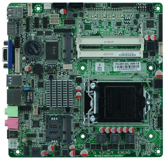 Support <font><b>Core</b></font> i3/i5/<font><b>i7</b></font>/Pentium Processor Industrial mainboard H81 Lga <font><b>1150</b></font> <font><b>socket</b></font> AIO Mini PC Motherboard 2 com image