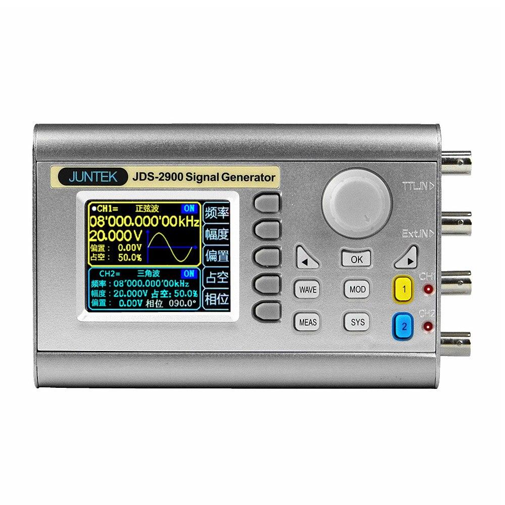 100% D'origine JDS2900 15 MHZ Signal Générateur Protable Numérique Contrôle Double-Canal DDS de Signaux Arbitraires Pulse Fréquence Mètre