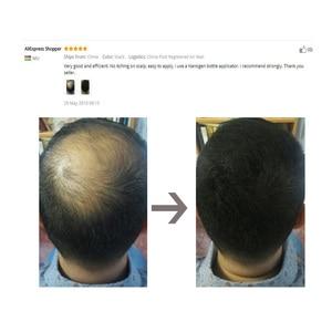 Image 5 - Refill 1kg Instant Hair Loss Fibers Keratin Building Fiber Powders Hair Fiber Styling Hair Extension Natural 10colors