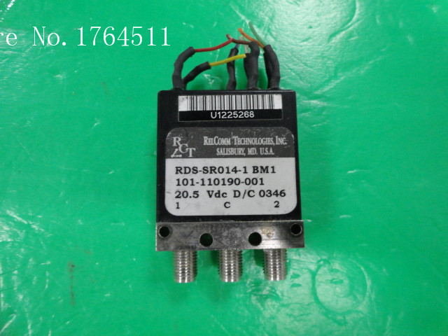 [BELLA] RCT RDS-SR014-1 DC-18GHz 20.5V SPDT High Power RF Coaxial - SMA  --2pcs/lot
