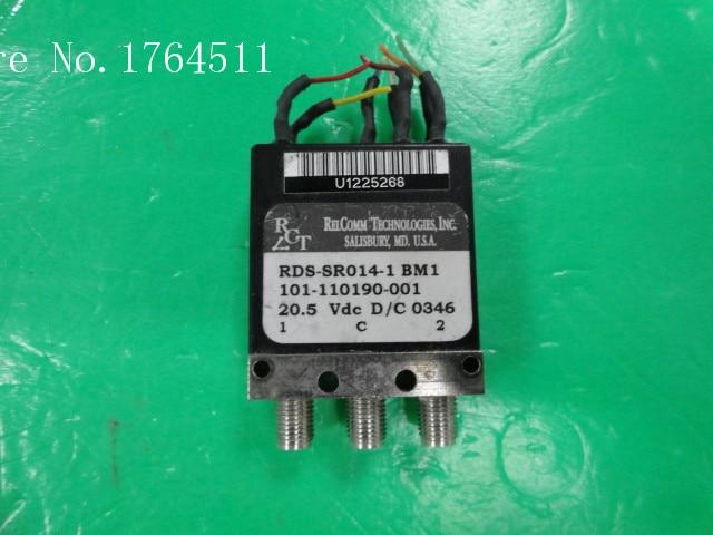 [BELLA] RCT RDS-SR014-1 DC-18GHz 20.5V SPDT High Power RF Coaxial - SMA  --2pcs/lot