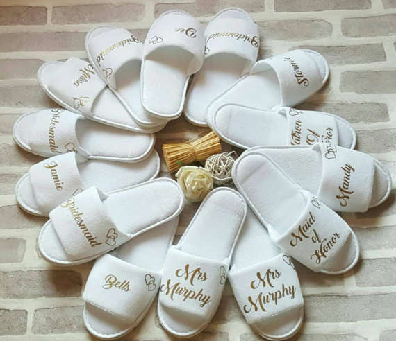 official site exclusive shoes latest fashion personalized Wedding Slippers,Bridal Party Slippers, flower girl  Bachelorette party favors gifts,wedding favor gifts