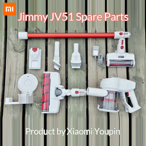 JIMMY JV51 Handheld Wireless Vacuum Cleaner Spare Parts Portable Cordless Home Carpet cyclone Dust Collector(China)