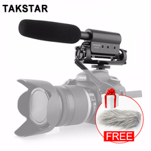 Original Takstar SGC-598 Photography Interview Microphone for Video Filming Interview Shotgun MIC for Nikon Canon Camcorder DSLR
