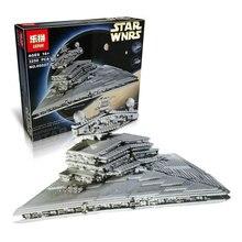 2 3250 Unids Star Wars Destructor Estelar Imperial Modelo Kit de Construccion Ladrillos Minifigure Bloques  Compatibles 10030