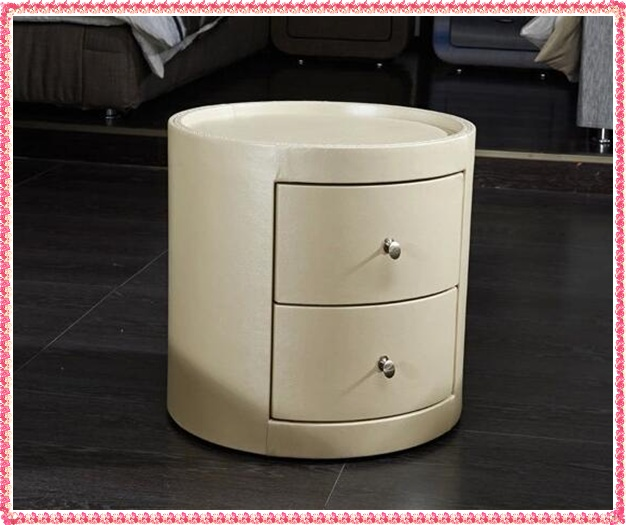 Online get cheap leather bedside tables for Table ronde 52 chimay