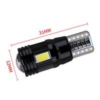 canbus שגיאה חינם שגיאה CANbus T10 נורת LED 2pcs BraveWay חינם 5730 6SMD W5W מנורה אוטומטי פנים עמילות חנייה אורות רכב סטיילינג 194 168 12V (3)