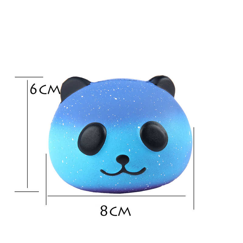 PU Единорог медведь животные мягкое jumbo милый медленно поднимающийся Kawaii пищащая игрушка для детей против стресса успокаивающий декомпрессионная сжимаемая игрушка