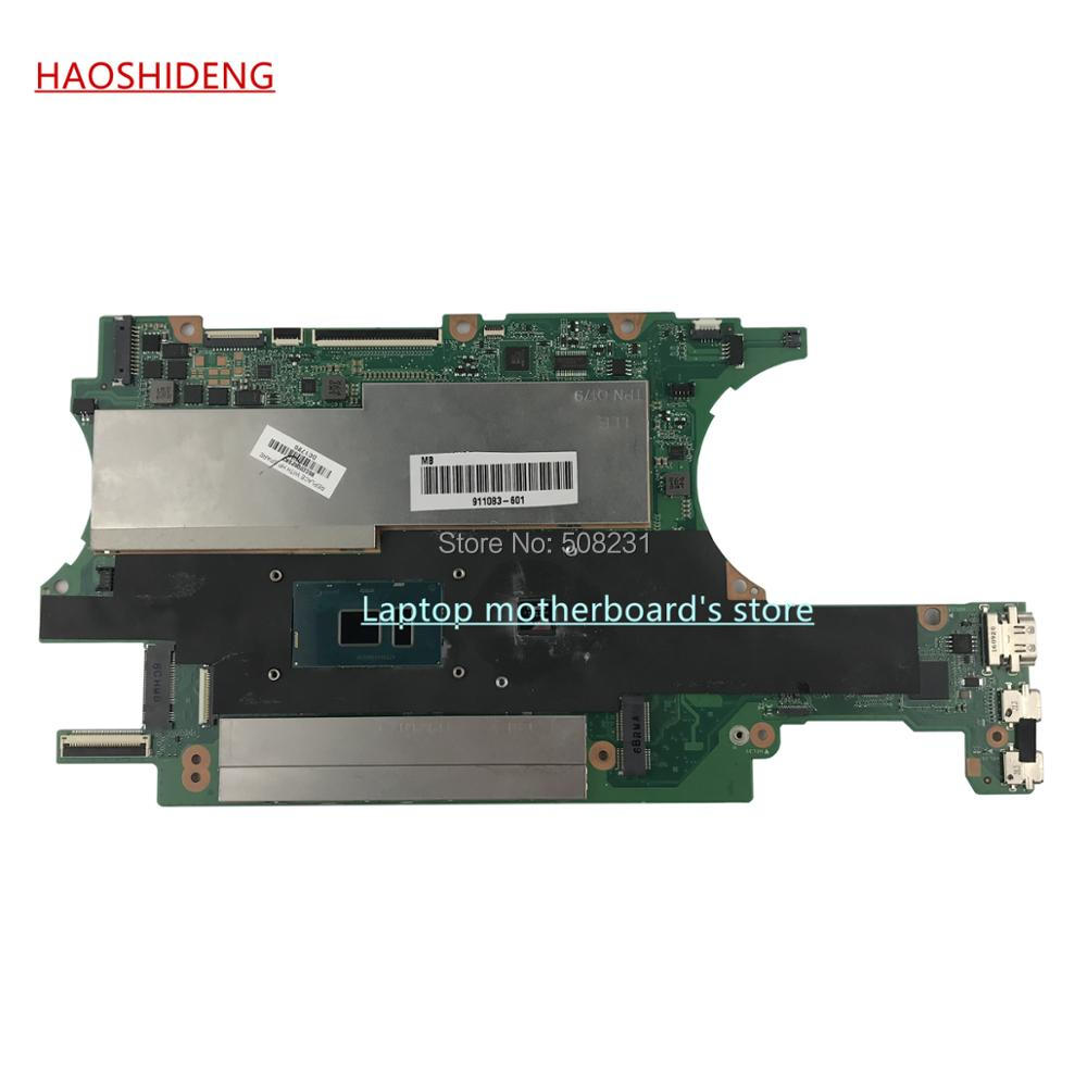 HAOSHIDENG 911083-601 DA0X32MBAG0 For HP SPECTRE X360 15-BL 15T-BL Laptop Motherboard with 940MX 2GB i7-7500U CPU,fully Tested