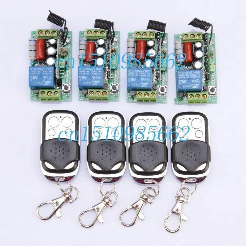 Light Switch Kit: 220V 10A 1CH rf wireless light remote control .,Lighting