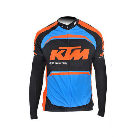 Cycling long jersey long sleeves roupa ciclismo blue black jpg 490x479 Black  and orange cycling jerseys 0d39a22ad