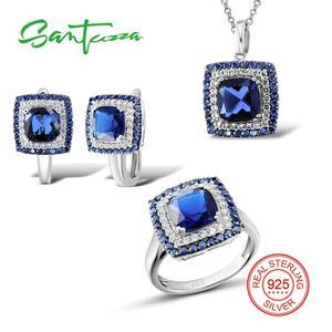 SANTUZZA Silver Jewelry Sets f