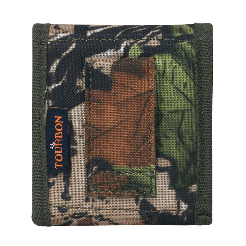 Tourbon Hunting Camo Cartridges Holder Ammo Shells Pouch Wallet Tactical Rifle Clip Belt Attachment Gun Accessories in Hunting Gun Accessories from Sports Entertainment