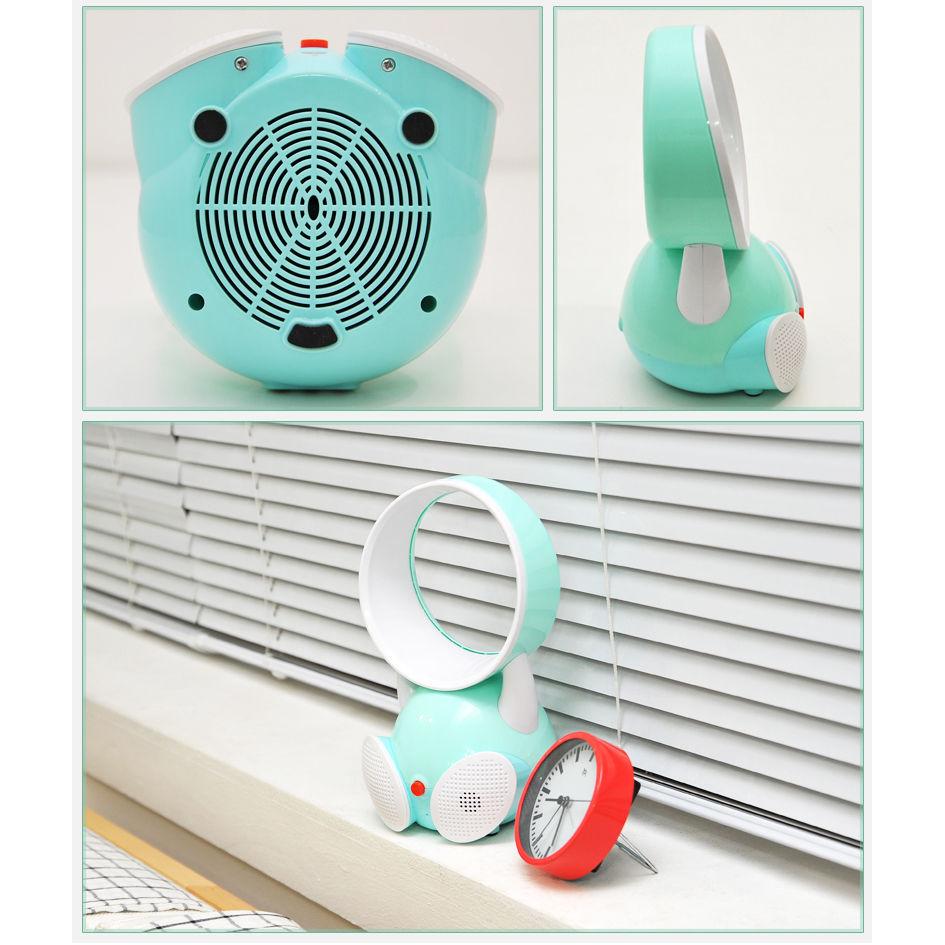 Partable Tisch/Boden Elektrische Blattloser Ventilator Home Office Kein  Blatventilator Klimaanlage Lüfter Tischventilator Lautsprecher Mike/keine  ...