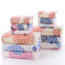 Luxury Printing Bath Towel for adults Bamboo Microfiber Thicken European and American Style Drop Shipping