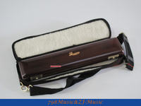 LORICO Flute Wood Case with Bag FOR B FOOT FLUTE