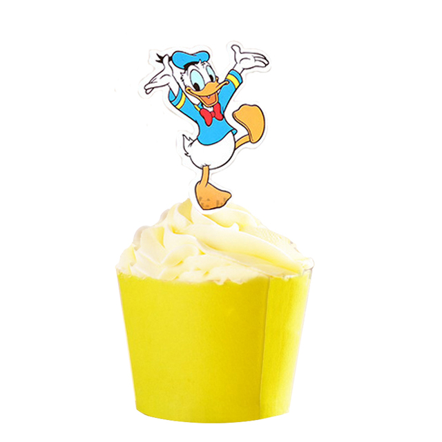 50 Stücke Tanzen Donald Duck Mickey Maus Meerjungfrau Prinzessin