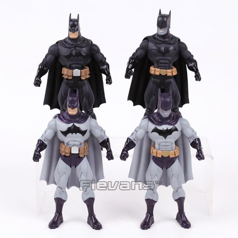DC COMICS Batman Action Figure Boys Favourite Toys Evil Batman Classic Toys Kids Gifts 7inch 18cm