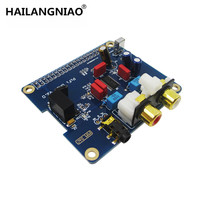 HAILANGNIAO Raspberry Pi 2 I2S Interface Special HIFI DAC Audio Sound Card Module PIFI DAC V2